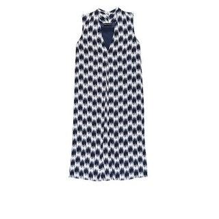 Bobeau Pleat Front Plus Size Dress