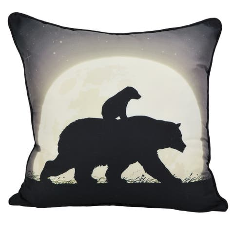 Donna Sharp Nightly Walk Silhouette Decorative Pillow