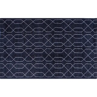 Moes Home Collection JH-1011 Fandango 5' x 8' Rectangle Cotton Geometric Area Ru (2 options available)