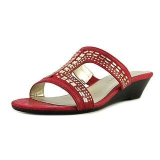 Karen Scott Womens SERYNE Open Toe Casual Slide Sandals