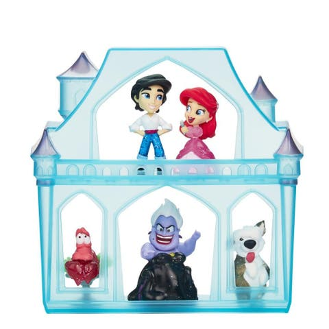 Disney Princess Comics Surprise Adventures Ariel With 5 Dolls, Accessories And Case, Fun Unboxing Toy, 3 Years And Up