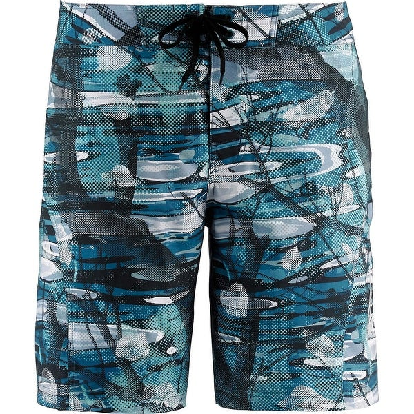 Legendary Whitetails Men's Big Game Rapids Camo Board Shorts - big game rapids