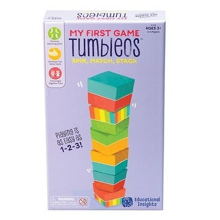 Learning Resources EI-1714 Tumbleos - My First Games