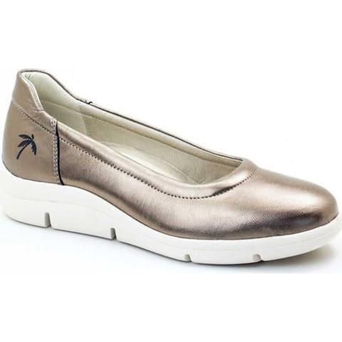 Dromedaris Women's Vanessa Slip-On Bronze Leather