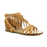 Sigerson Morrison Womens Brown Ankle Strap Sandals Size 7