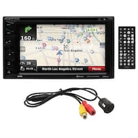 "Boss 6.2"" D.Din DVD/GPS/ BT with Backup Camera"