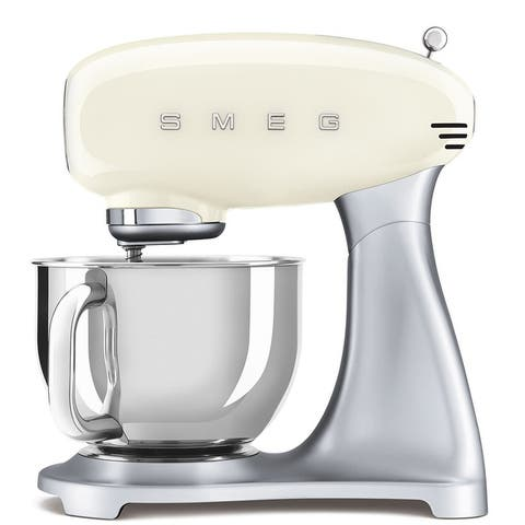 Smeg 50's Retro Style Aesthetic Stand Mixer, Cream