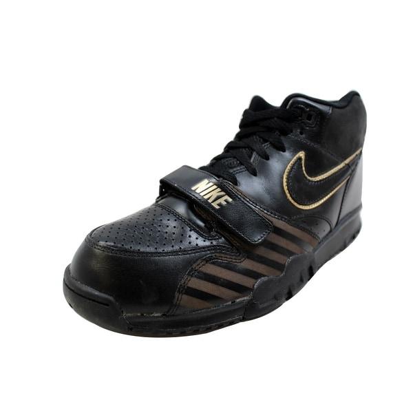 Nike Men's Air Trainer 1 Mid PRM NRG Black/Black BB51 532303-090 Size 11.5
