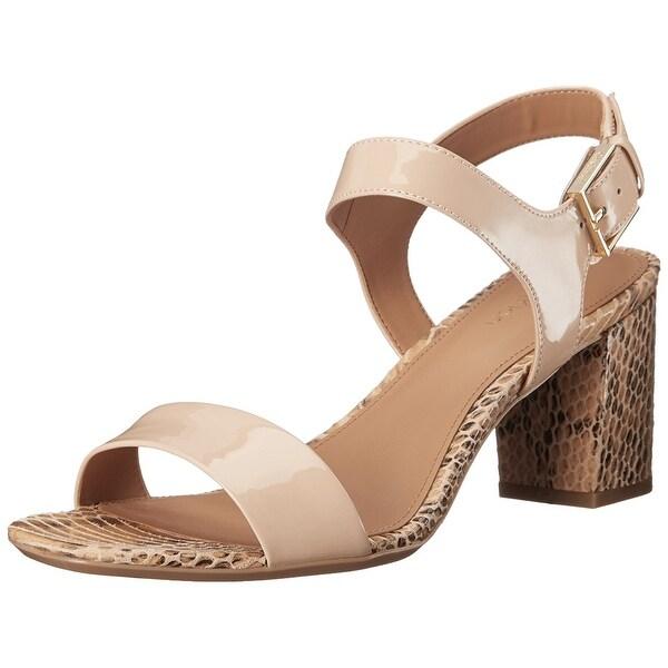 Calvin Klein Womens Cimi Open Toe Formal Strappy Sandals