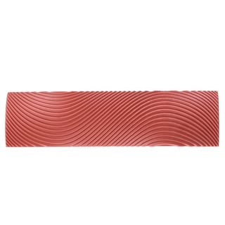 6 Inch Wood Graining Rubber Grain Tool Pattern Wall Painting Decor DIY Red MS9