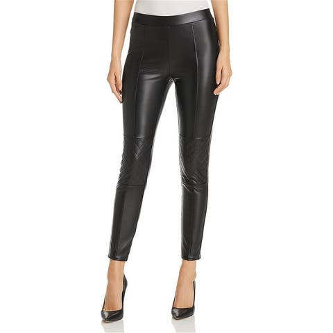 1.State Womens Quilted Knee Casual Leggings