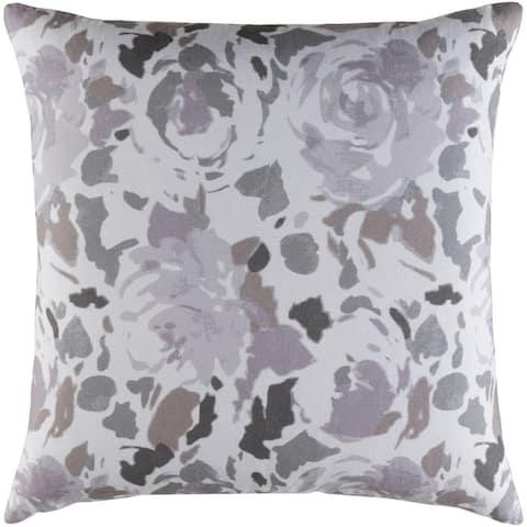 Decorative Sain Lilac 22-inch Throw Pillow Cover