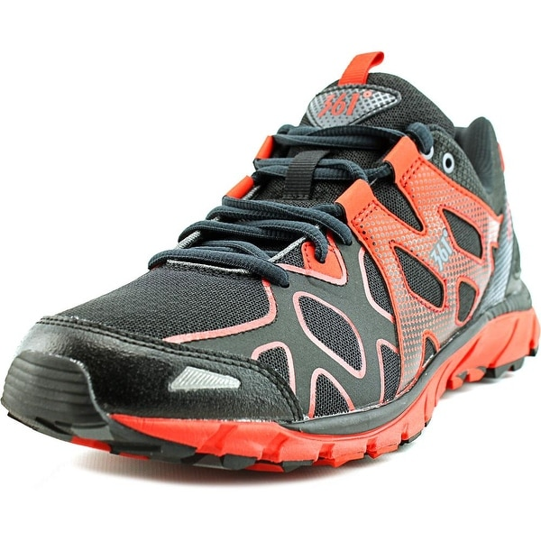 361 Ascent Men Black/Moonless Night/Fiery Red Running Shoes