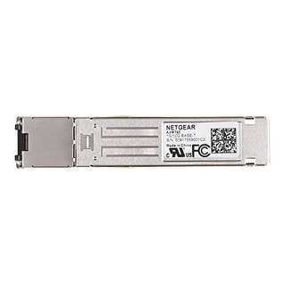Netgear Axm765-10000S 10Gbase-T Sfp+ Transceiver, Fits M4300, M5300, M6100, M7100, And M7300 Managed Switches, 5-Year Wa