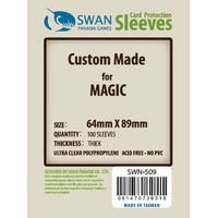 Premium Standard Card Magic 64x89mm Sleeves (100)