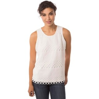 Studio West Womens Blouse Lace Pattern (2 options available)