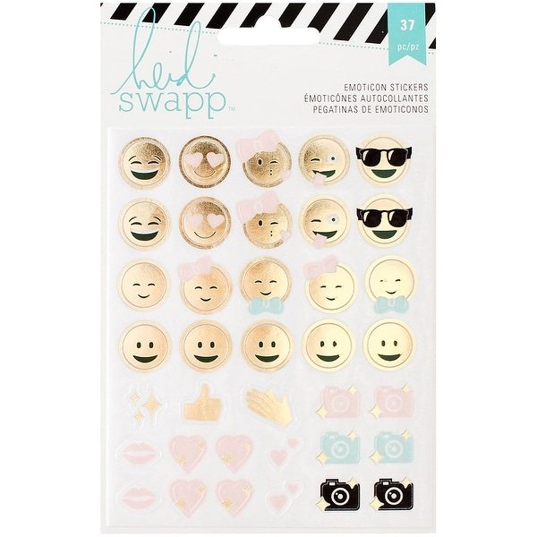 Heidi Swapp Memory Planner Emoticon Stickers-