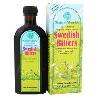 Natureworks Swedish Bitters Liquid Extract 8.45-ounce