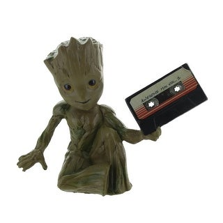Guardians of the Galaxy Baby Groot w/ Mix Tape 3D Magnet - Multi