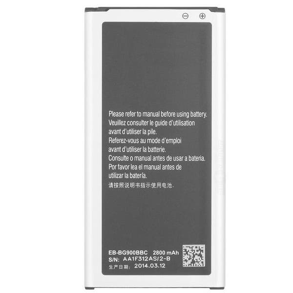 Shop Black Friday Deals On Replacement Eb Bg900bbu Battery For Samsung Galaxy S5 Us Cellular Cell Phone Models Overstock 16677000