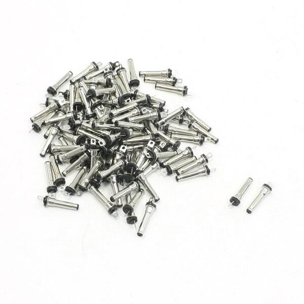 Unique Bargains 100 Pieces 2.0mm x 0.6mm x 13.2mm Male Plug DC Power Jack Connector Adapter