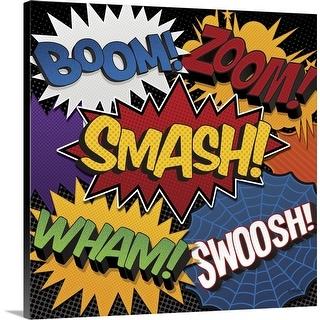 """Smash"" Canvas Wall Art"
