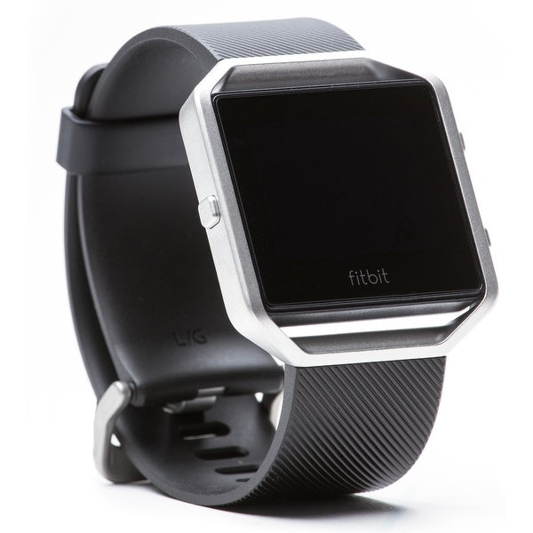 Shop Fitbit Blaze Fitness Watch (Large/Black) - Free Shipping Today - Overstock.com - 16278365
