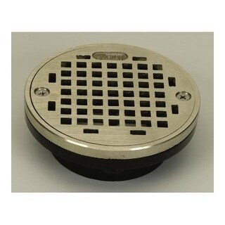 """Proflo PF42930 2"""" or 3"""" ABS Shower Drain with 4"""" Stainless Steel Strainer"""