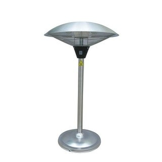 PrimeGlo HIL-1821 Electric Tabletop Patio Heater - Stainless Steel