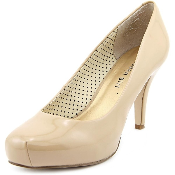 Madden Girl Getta Women Round Toe Synthetic Nude Heels