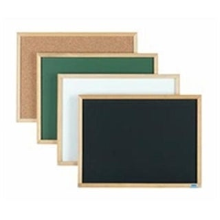 Aarco Products EB3648 Economy Series Wood Frame Natural Cork Board