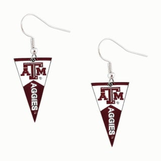 Texas A&M Aggies NCAA Pennant Dangle Earring