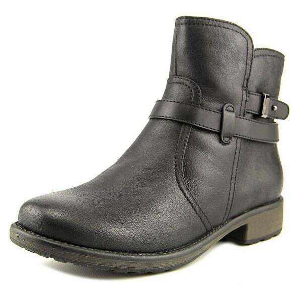 Baretraps Saint Women Round Toe Synthetic Black Ankle Boot