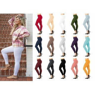 Link to NioBe Clothing Womens Full Length Cotton Ankle Leggings Similar Items in Tops