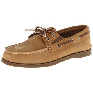 Sperry Top Sider Leather Original Slip On Boat Shoe