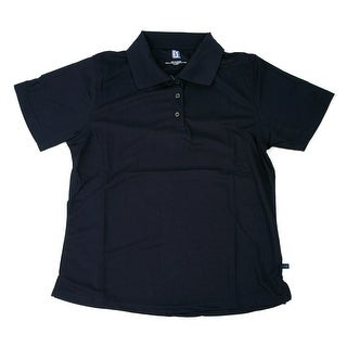 PGA TOUR Men's Polo Shirt - Navy Solid - Small
