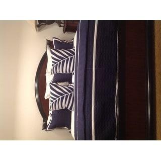 Porch & Den Highland Navy Quilt 8-piece Set