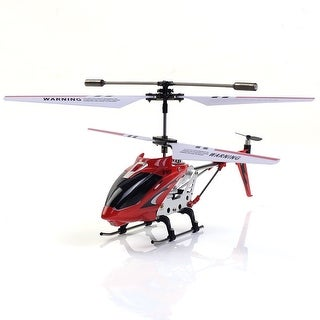 Super buy Red 22 cm Syma S107G 3CH Mini Remote Control RC Helicopter GYRO