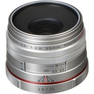 Pentax HD Pentax DA 35mm f/2.8 Macro Limited Lens (Silver)