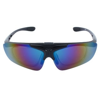 ROBESBON Authorized Outdoor Removable Frame Goggles Lens Cycling Glasses Black
