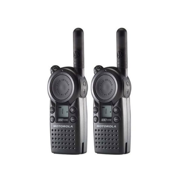Motorola CLS1410 (2 Pack) 2-Way Radio / 5 Mile Range