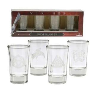 Viking Shot Glasses Set of 4 - Multi
