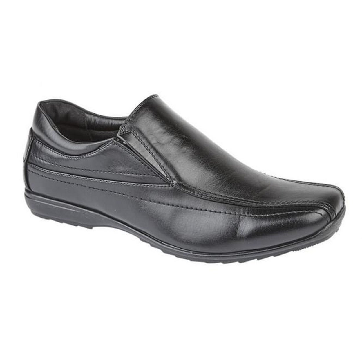 Mirak Mens Clipper Slip On Leather Smart Casual Loafer Shoes
