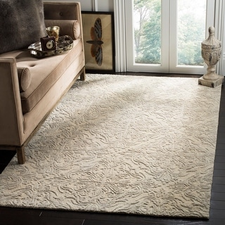 Link to Safavieh Handmade Blossom Letty Modern Floral Wool Rug Similar Items in Transitional Rugs