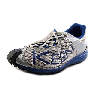 Keen A86TR Men Round Toe Leather Gray Trail Running