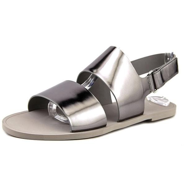 Vince Camuto Sorce Open-Toe Leather Slingback Sandal