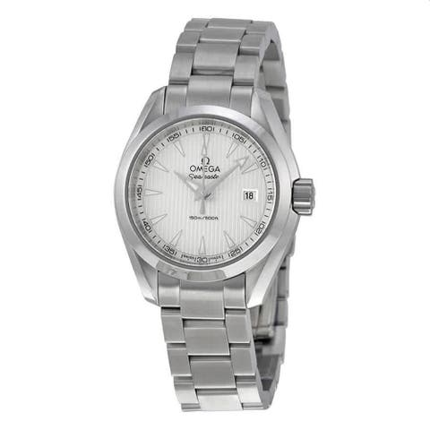 Omega Men's 231.10.30.60.02.001 'Seamaster' Stainless Steel Watch - Silver