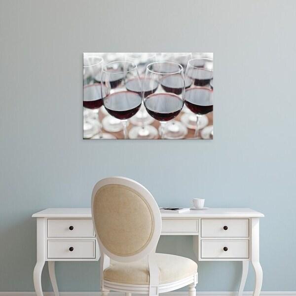 Easy Art Prints Walter Bibikow's 'Bodega Marques De Riscal Winery Ii' Premium Canvas Art
