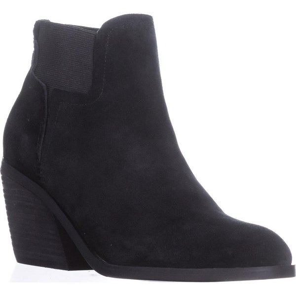 Guess Galeno Pull On Ankle Boots, Black - 7.5 us