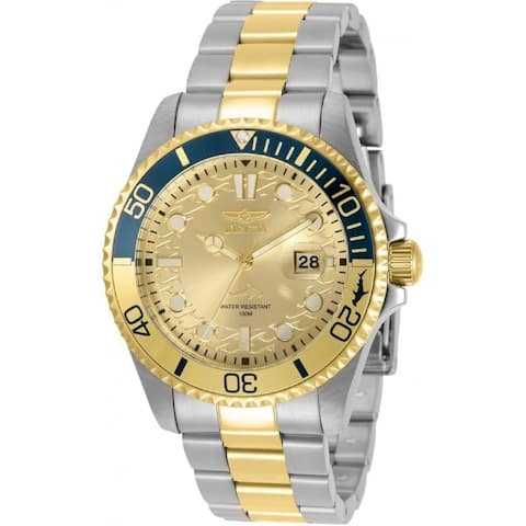Invicta Men's 30948 'Pro Diver' Stainless Steel Watch - Gold-Tone